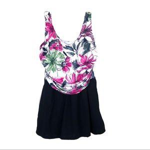 Suddenly Slim by Catalina 1 Pc Swimsuit NWT Sz 2X